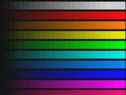 Оценка динамического диапазона изображения. Изображение, полученное системой AViaLLe без сжатия.