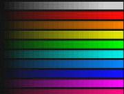 Оценка динамического диапазона изображения. Изображение, полученное системой AViaLLe, степень сжатия равна 1.