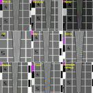 Сводная таблица результатов для всех участников теста. ITV  (Интеллект), ISS (Видео-Инспектор), Баратунг (Атлант Видео), Цифровые системы (AViaLLe), Vocord Telecom (Phobos), DSSL (Trassir), Союзспецавтоматика (Кодос ВидеоСеть), KOMKOM Электроникс (Ewclid)