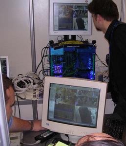 Тестирование системы видеонаблюдения AViaLLe.